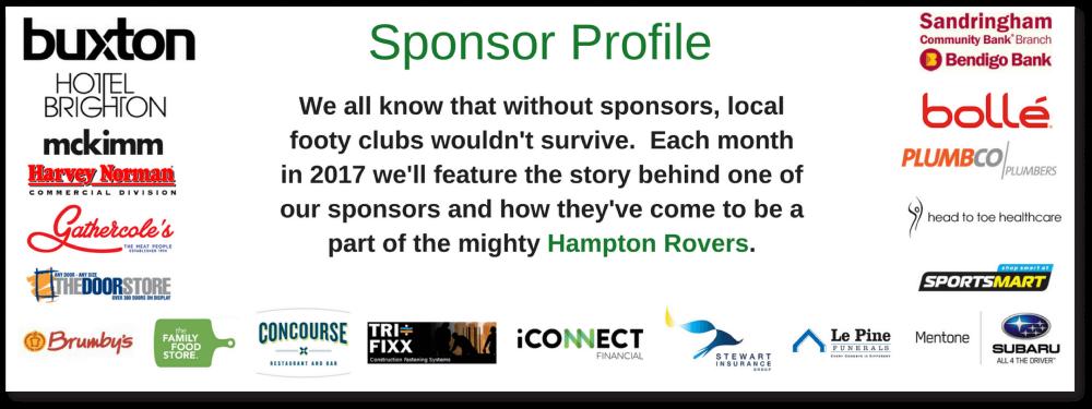 hampton rovers juniors sponsors